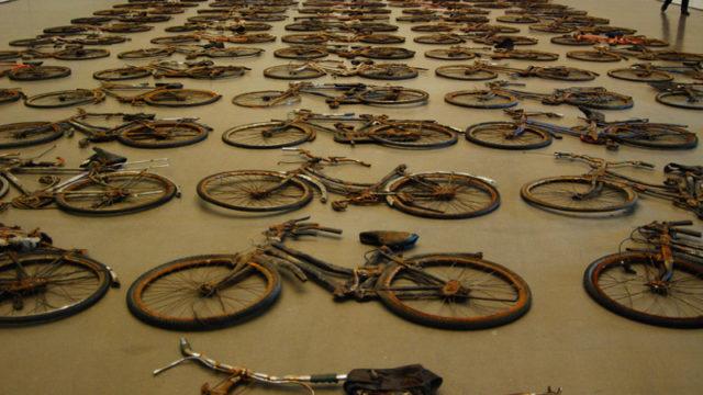 自転車 300平方米