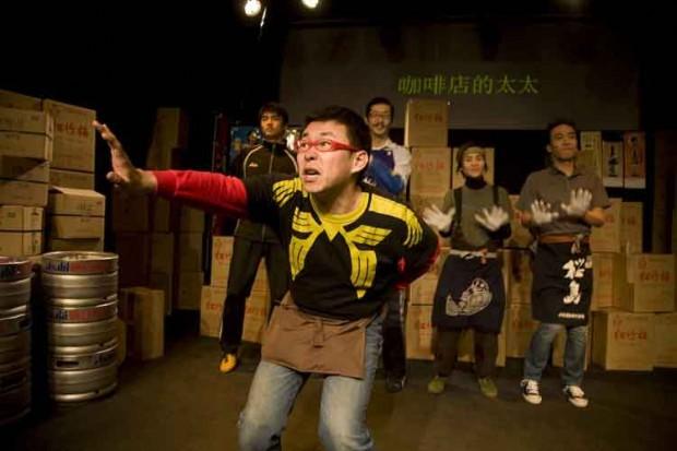 巧みな日本語を操り、日本人の観客を驚嘆させた中国人の于智為さん。