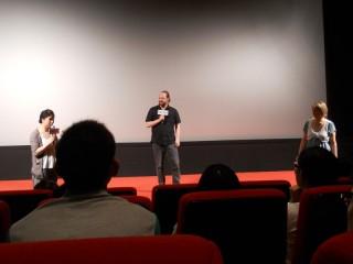 スウェーデン映画祭での制作者を囲んだティーチ・イン