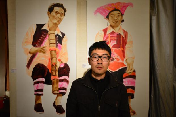 地元で活躍する若手作家、黎陽煕氏とその作品