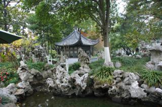 「樸園」内の風景