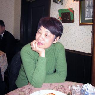 崔衛平氏近影(2013年01月。大阪にて/劉燕子撮影)