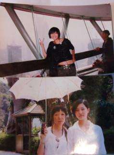 復興学院の学生の写真(2008年の4月と10月に撮影したもの)