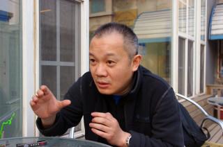 北京文化遺産保護中心の発起人、何戍中さん