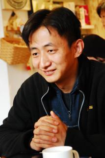 「老北京網」の発起人で管理人の張巍さん