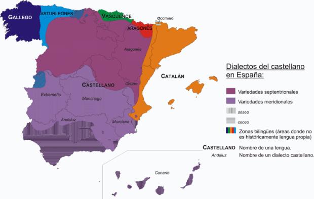 スペインの言語的多様性
