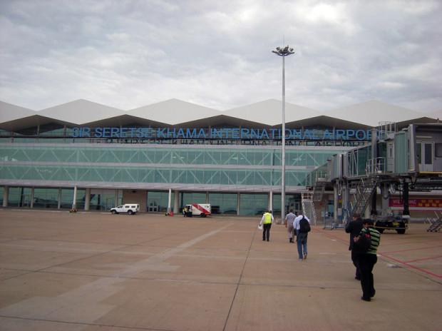 ハボロネ国際空港(2013年01月筆者撮影)
