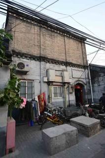 陝西巷に残る雲吉班跡。小鳳仙と蔡鍔が出会った場所とされる