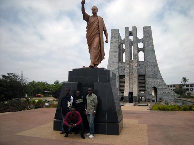 クワメ・エンクルマ(ガーナ初代大統領)記念公園