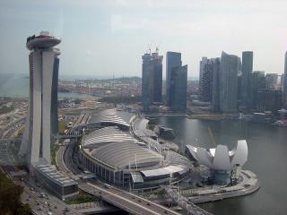 シンガポール中心部