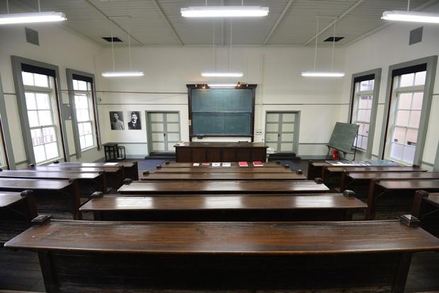 6号教室の内部