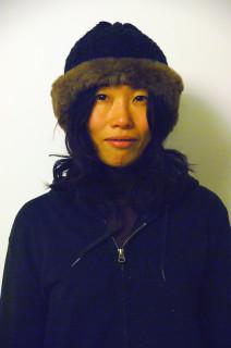 清水恵美さん(張全撮影)
