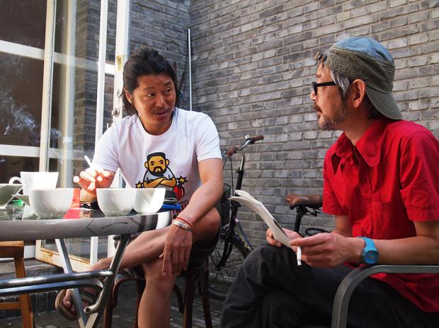 左小祖咒氏(左)と牧陽一氏