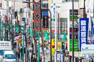 日本の韓流タウン、新大久保