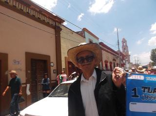 メキシコの社会的連帯経済の運動を長年率いてきたルイス・ロペスジェーラ氏