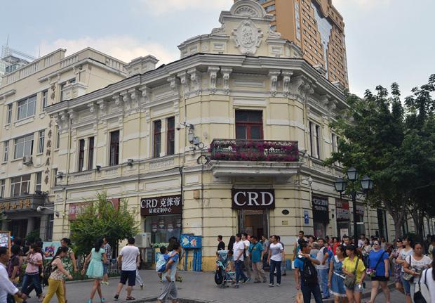 現在の中央大街(撮影/張全)