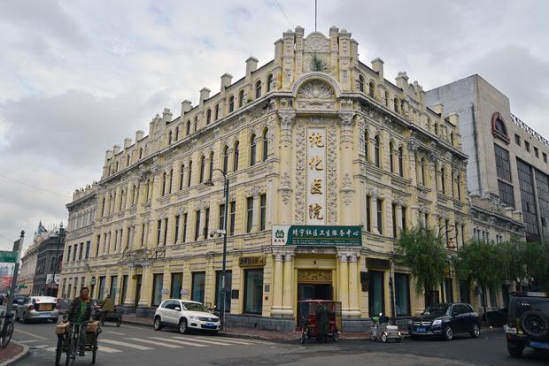 中華バロックの百貨店「同義慶」跡。現在は病院に(撮影/張全)
