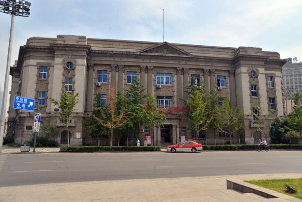 中山広場に面した東洋拓殖株式会社奉天支店跡(現・盛京銀行)。1922年竣工(張全撮影)