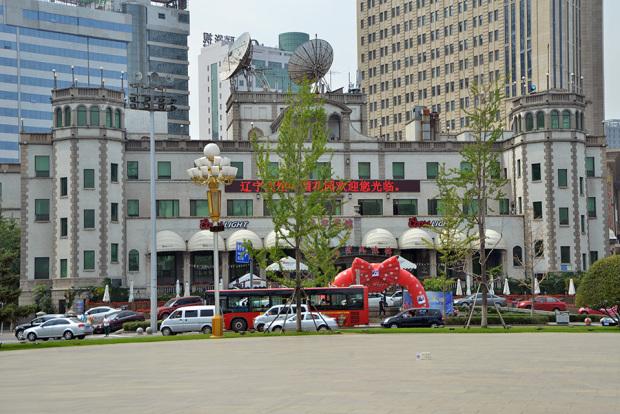 旧ヤマトホテル(現・遼寧賓館)(張全撮影)