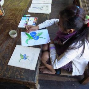 カンボジア 世界一持続可能な村へ