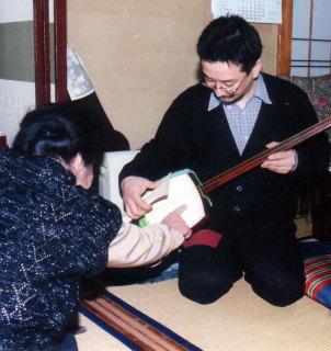富士松節(新内の前駆)家元・富士松加賀師匠のお稽古