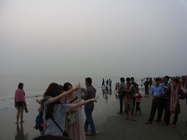世界一長い自然のビーチ