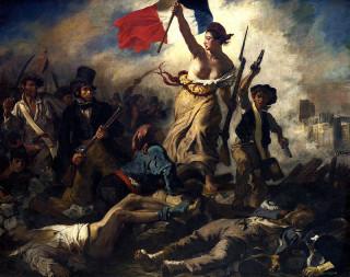 ドワクロワ「民衆を導く自由の女神」