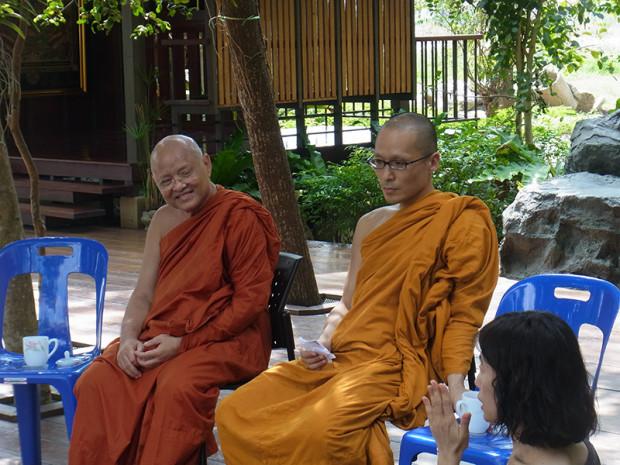 タイの高僧に話を聞く