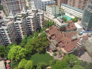 上海 古い家並みはどんどん開発されて無くなっていく
