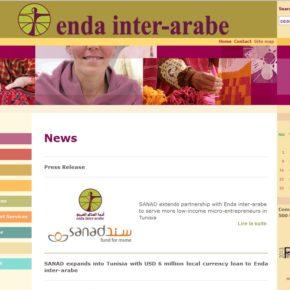 Endaのサイト