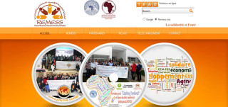 モロッコ社会的連帯経済ネットワークのサイ