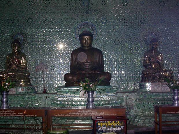ミャンマー バゴー 日本兵の遺族が寄贈したミニチュア鎌倉大仏