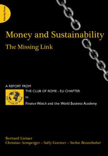 「通貨と持続可能性」の表紙