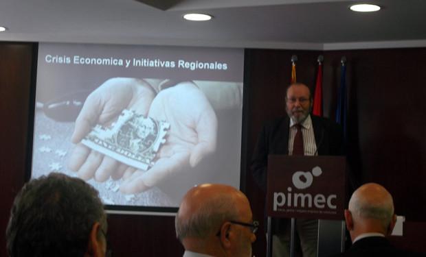 同書の主要著者ベルナルド・リエター氏(2014年4月にバルセロナ市内で撮影)
