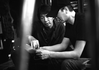 作者の劉震雲と監督