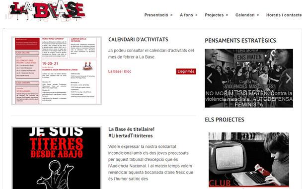 La Baseのページ