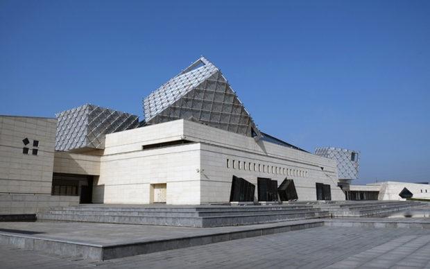 中国海塩博物館。近代以前の中国の塩政、塩商人の栄華、製塩の歴史を一覧できる
