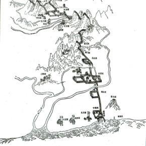 山海関地図〔山海関区人民政府編纂『山海関旅游』(天津人民出版社、2001年)より〕
