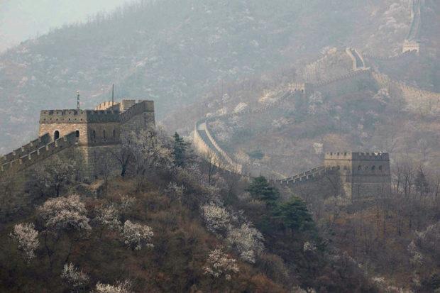 慕田峪長城。薊鎮に属し、北京郊外にある外長城