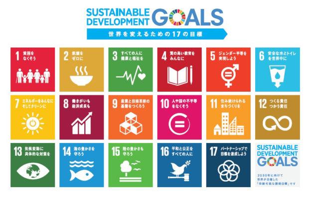持続可能な開発目標一覧