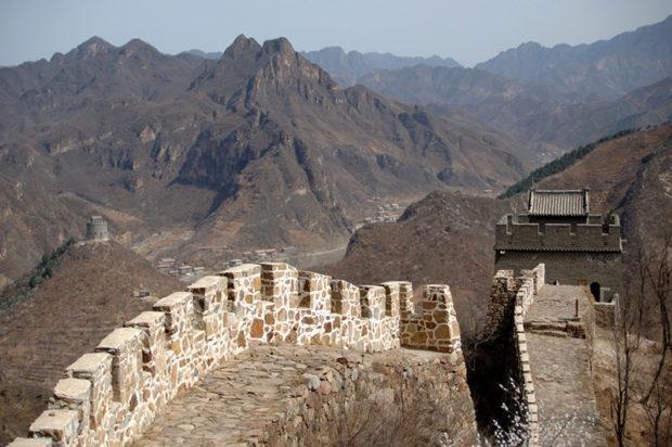 黄崖関(西城)。漁陽古地の山岳地帯を防衛する薊鎮の要衝