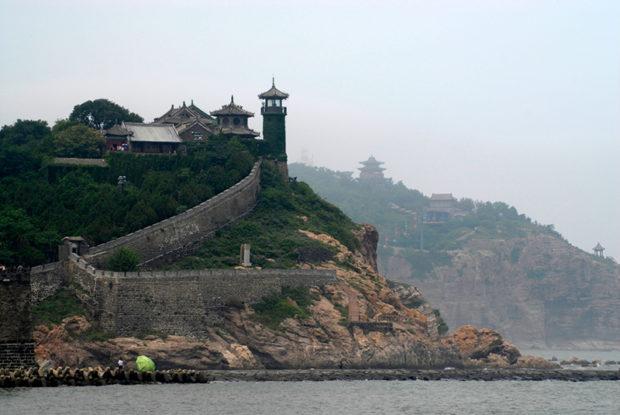 蓬莱閣は古来、中国の桃源郷として知られる