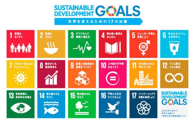 持続可能な開発目標の17項目