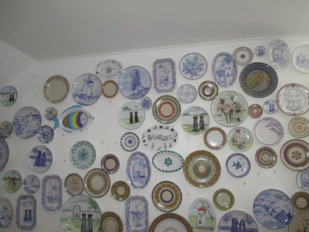 アリスカが製作した陶器類