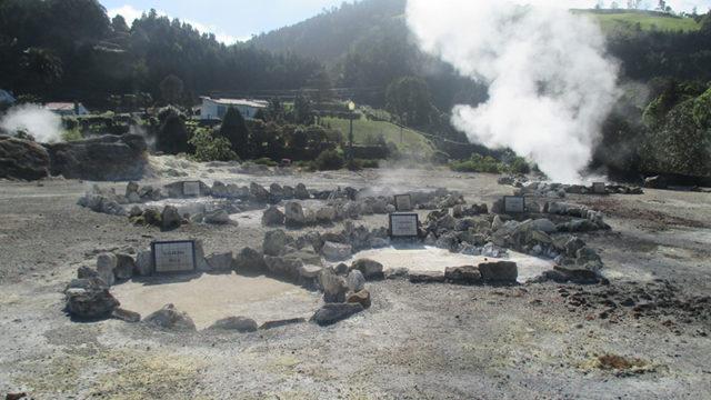 サン・ミゲル島フルナスの温泉