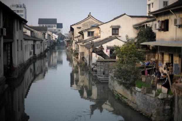 南宋の臨安にも街を行き交う無数の小運河があったにちがいない
