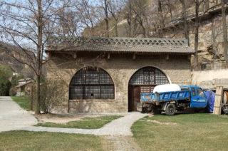 野坂参三旧居:王家坪にある中共幹部居住区の東端にひっそりと保存されている