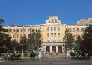 旧満州の首都放送局。建国後、長く吉林省電信公司が入居した