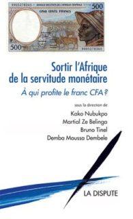 「通貨の奴隷制からアフリカを解放」と題された本(フランス語)の表紙