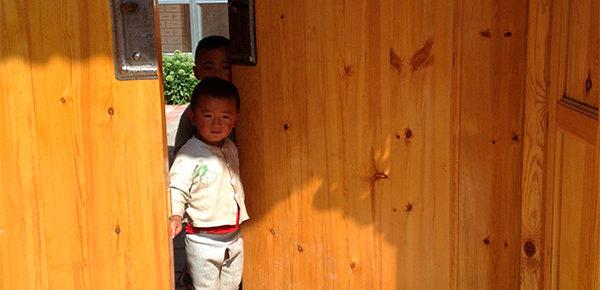 村落の子供 撮影/筆者